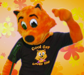 Cool Cat Loves to Boogie-Woogie in his shirt
